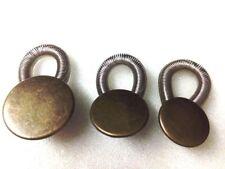 3 Stück Set 3 Größen Wunderknöpfe in Bronze Bunderweiterung  Verlängerung
