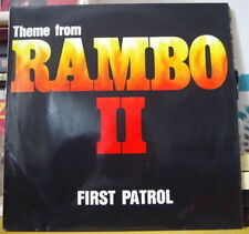 FIRST PATROL THEME FROM RAMBO II MAXI 45T RUSH RECORDS 1985