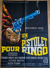 Affiche de cinéma : UN PISTOLET POUR RINGO de DUCCIO TESSARI