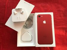 Genuine Apple iPhone 7 Red Box (UK model) with accessories - REF F09