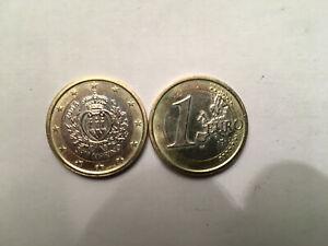 1 euro BU    Saint Marin 2008