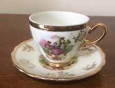 Sonsco Japan Romeo And Juliet Fine China Tea Cup And Saucer