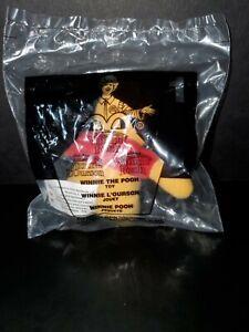 New McDonald's Happy Meal Winnie The Pooh #1 Disney 2001 2002 NIP Plush Toy