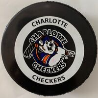 CHARLOTTE CHECKERS ECHL EAST COAST HOCKEY LEAGUE INGLASCO OFFICIAL GAME PUCK