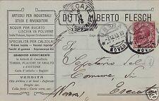 # INTRA -testatina DITTA ALBERTO FLESCH- ARTICOLI PER CALZOLAI- ACQUA PER BUCATO