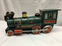 VTG BATTERY OPERATED MYSTERY ACTION WESTERN SPECIAL LOCOMOTIVE TIN TRAIN Repair