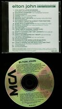 Elton John Excerpts From To Be Continued Promo CD