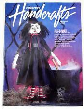 Country Handcrafts Magazine Autumn 1988 Matilda Witch Full-Size Pattern