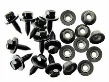 Ford Truck Bolts & Barbed Nuts- M6-1.0mm Thread- 10mm Hex- Qty.10 ea.- #124