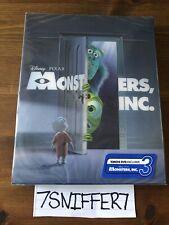 Monsters Inc Kimchidvd Exclusive Lenticular Slip 3D Blu-ray Steelbook New Sealed