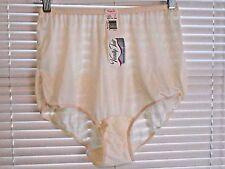 Vintage Vanity Fair Usa Made 100% Dupont  Nylon Tricot  Panties Ivory  Size 7/44
