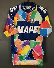 MEN'S SHIRT SANTINI MAPEI ITALY ITALIA CYCLING CYCLISMO JERSEY MAGLIA SIZE L 4