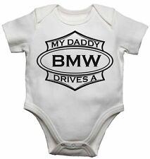 My Daddy Drives A BMW Bimbo Bambino Body Regalo Neonato - body bebè Crescita
