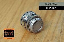 Silver Metallic Front Lens Protection Cap 27mm fit Kern Wollensak Bell Kodak nex
