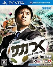 Used PS Vita Sakatsuku Pro Soccer Club wo Tsukurou Japan Import (Free Shipping)