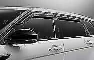 Genuine Range Rover Evoque 2012+ Air Deflectors - VPLVB0245