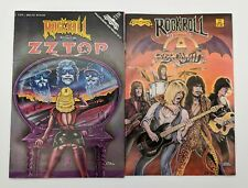 Aerosmith + ZZTOP Rock N Roll Comics VF+ Revolutionary Underground 1990