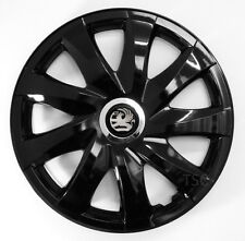 4x14'' Wheel trims hub caps for Vauxhall   - black  14''