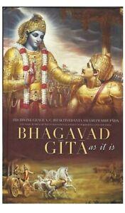 "Bhagavad Gita: As It Is 2016 English Edition (Hardcover, ""His Divine Grace A.C.)"