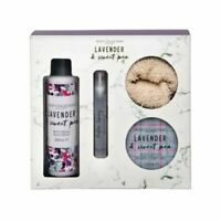 Ladies Bath&Body Lavender & Sweet Pea Toiletry Gift Body Collection 999503-Z26