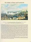 Manöver 1840 - Der Soldat in Dienst und Gesellschaft