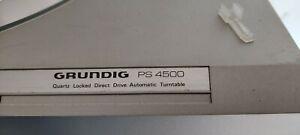Grundig PS 4500 Turntable