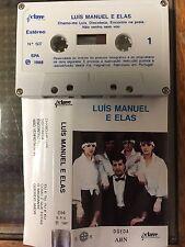 Luis Manuel E Elas Suas Bailarinas rare Portuguese cassette tape 1988 tested