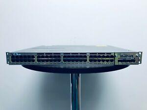 Cisco 3750-X Switch 48 Port Gigabit PoE+ With C3KX-NM-10G - WS-C3750X-48PF-S
