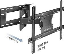 ONKRON TV Wall Mount Dual Articulating Arm for 40 to 60inch Full Motion M7L