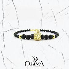 LoNdo Gold Buddha Love Bracciale Fashion Pietre BR-BUDDHA 03