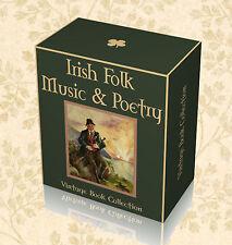 DVD 150 Rare Ancient Irish Folk Song Books - Ireland Traditional Gaelic Music F3