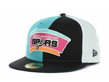 San Antonio Spurs New Era 59FIFTY NBA Hardwood Classics Cap Hat - Size: 7 1/4