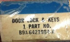 1959 Ford Fairlane Custom NOS Outside Door Handle Button With Key