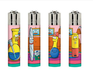 ICONIC RARE CLIPPER LIGHTERS - THE SIMPSONS SIMPBONGS - SINGLE OR FULL SET