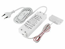 12V MINI-AMP LED Transformator Netzteil 12W 6-fach-Verteiler + Schalter Stecker
