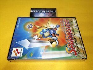 Sparkster Rocket Knight aventures 2 Sega Mega Drive / Genesis REG CARD RARE.