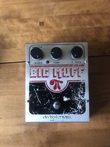 Electro Harmonix Big Muff Pi Fuzz - Boxed - Guitar Effect Pedal