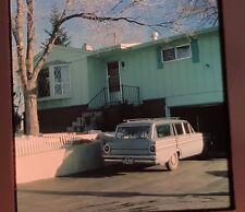 Classic Station wagon 1960s 1969 35 mm slides amateur lot 5 family