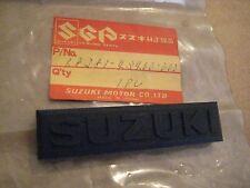 SUZUKI GS550/GSX550 HANDLE PAD EMBLEM NOS!