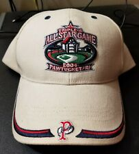 Pawtucket Red Sox 2004 AAA All-Star Game  HAT men's size adjustable Strapback