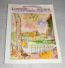 The Illustrated London News Magazine Autumn 1989 George Perry Martha de la Cal