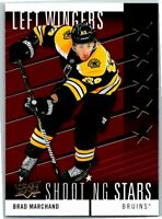 2019-20 Upper Deck Hockey Shooting Stars Red Card #SSL-4 Brad Marchand