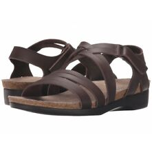 Munro Leather Footbed Sandals Women's Shoes Size 13