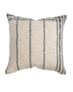 McGee & Co. Lena Woven Pillow Cover, 20x20 - NWT