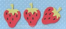 DIE CUT - 3 X STRAWBERRY (KITS)