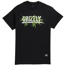 Grizzly Diamond Supply Mens S/S T-Shirt SEEDS STAMP Weed BLK Streetwear S-XL $30