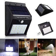 20 LED Solar Power Waterproof PIR Motion Sensor Wall Light Outdoor Garden Lamp U