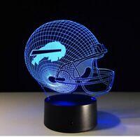 Buffalo Bills Collectible Light Lamp Home Decor Gift Josh Allen Football