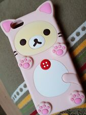 Kawaii Rilakkuma silicones iphone 6 s Case