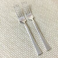 Christofle Concorde Silver Plated Large Table Forks Cutlery Flatware PAIR 20.5cm